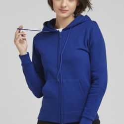 Ladies' Full Zip Hooded Sweatshirt Thumbnail