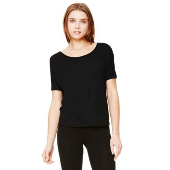 Flowy open-back t-shirt Thumbnail