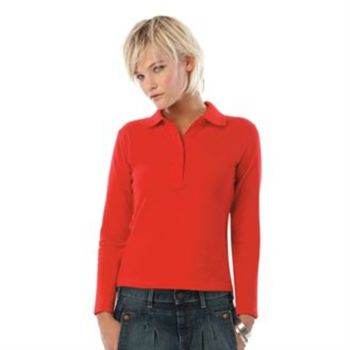 B&C Safran pure long sleeve /women Thumbnail