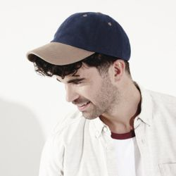 Low-profile heavy brushed cotton cap Thumbnail