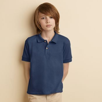 Kids DryBlend® Jersey knit polo Thumbnail