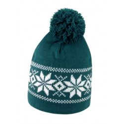 Fair Isle knitted hat Thumbnail