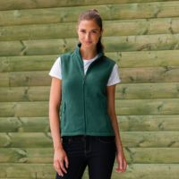 Women's outdoor fleece gilet Thumbnail
