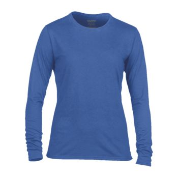 Women's Gildan performance long sleeve t-shirt Thumbnail