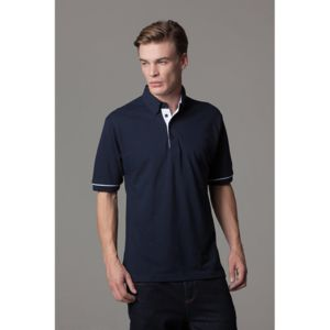 Button-down collar contrast polo (classic fit) Thumbnail