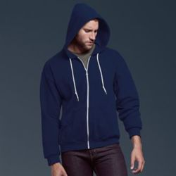 Anvil full-zip hooded sweatshirt Thumbnail