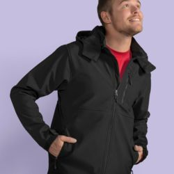 SG Mens Hooded Contrast Softshell Thumbnail