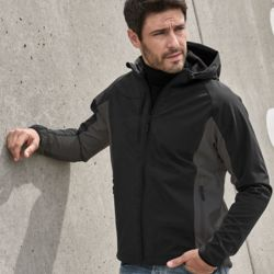 Tee Jays Mens Hood Fashion Softshell Jkt Thumbnail
