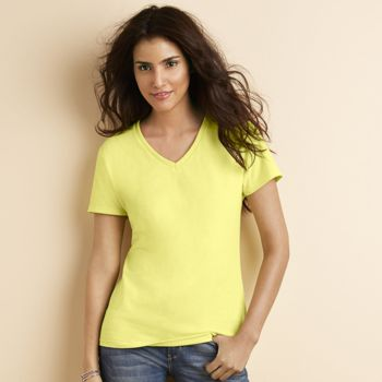 Women's premium cotton v-neck t-shirt Thumbnail