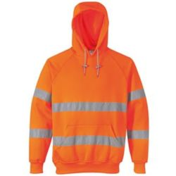 Hi-vis hooded sweatshirt (B304) Thumbnail