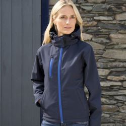 Women's Core TX performance hooded softshell jacket Thumbnail
