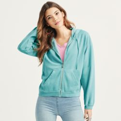 Comfort Colors Ladies Full Zip Hoodie Thumbnail