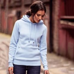Women's authentic hooded sweatshirt Thumbnail