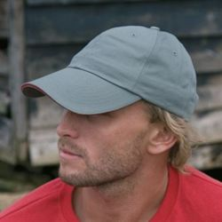 Herringbone cap with sandwich peak Thumbnail