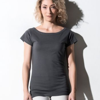 Nakedshirt Alice Boatneck Tunic Tee Thumbnail