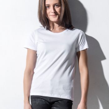 Nakedshirt Womens Fitted Crew Neck Tee Thumbnail