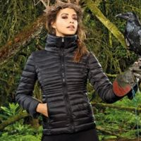 Women's contour quilted jacket Thumbnail