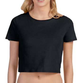 Women's polycotton crop tee Thumbnail