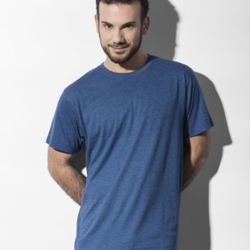 Nakedshirt Larry Triblend Mens Tee Thumbnail