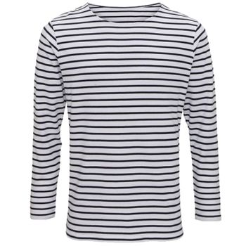 Men's Marinière coastal long sleeve tee Thumbnail