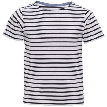 Kids Marinière coastal short sleeve tee Thumbnail
