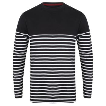 Long sleeve Breton striped T Thumbnail