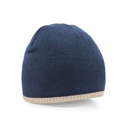 Two-tone pull-on beanie Thumbnail