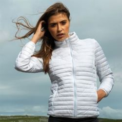 Women's tribe fineline padded jacket Thumbnail