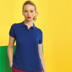 Women's polycotton blend polo Thumbnail