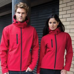 Core TX performance hooded softshell jacket Thumbnail