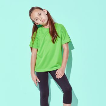 Stedman T-shirt Mesh ActiveDry for kids Thumbnail