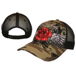 Miami Ink - Rose Trucker Cap Thumbnail