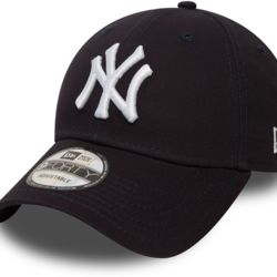 New Era 9Forty League Basic NY Yankees Dad cap Navy/white | New Era 940 LEAG BASIC New York Yankees  Thumbnail
