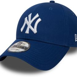 New Era 9Forty League Basic NY Yankees Dad cap royal/white | New Era 940 LEAGUE BASIC New York Yanke Thumbnail