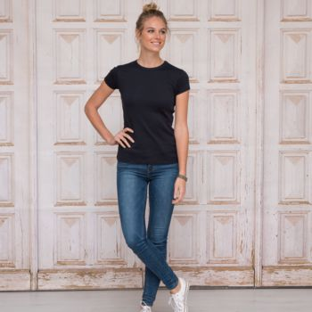 L&S T-shirt Interlock SS for her Thumbnail