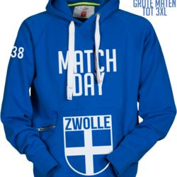 Zwolle Hooded MatchDay Thumbnail