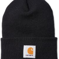 Carhartt ACRYLIC WATCH HAT  Black Thumbnail