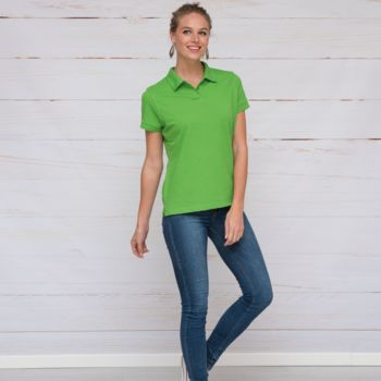 L&S Polo Basic Mix SS for her Thumbnail