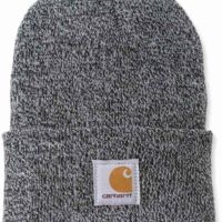 Carhartt ACRYLIC WATCH HAT Black/White Thumbnail