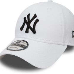 New Era 9Forty League Basic NY Yankees Dad cap white/black | New Era 940 LEAG BASIC New York Yankees Thumbnail