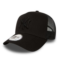 New Era CLEAN TRUCKER 2 New York Yankees Cap - black on black - One size Thumbnail