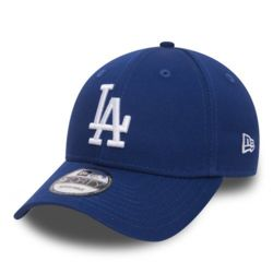 New Era 9Forty League Basic LA Dodgers Dad cap white/blue Thumbnail