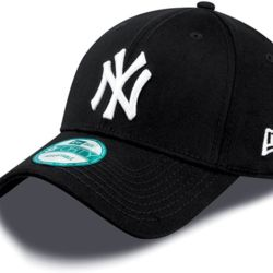 New Era 9Forty League Basic NY Yankees Dad cap Black/white | New Era 940 LEAG BASIC New York Yankees Thumbnail