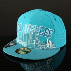 New Era 59fifty City Line LA Dodgers Fitted cap Blue/b Thumbnail