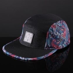 A.N.T. Injection Strapback cap Multi/leather Thumbnail