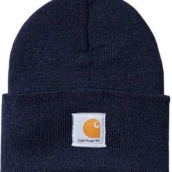Carhartt ACRYLIC WATCH HAT Navy Thumbnail