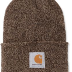 Carhartt ACRYLIC WATCH HAT DARKBROWN/SANDSTONE Thumbnail