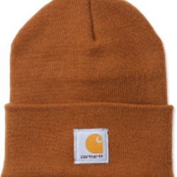 Carhartt ACRYLIC WATCH HAT CHŽ BROWN Thumbnail