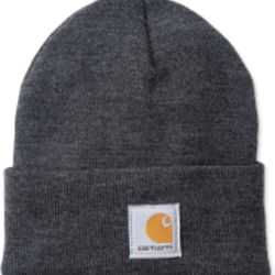 Carhartt ACRYLIC WATCH HAT COAL HEATHER Thumbnail