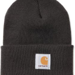 Carhartt ACRYLIC WATCH HAT DARK GREEN Thumbnail
